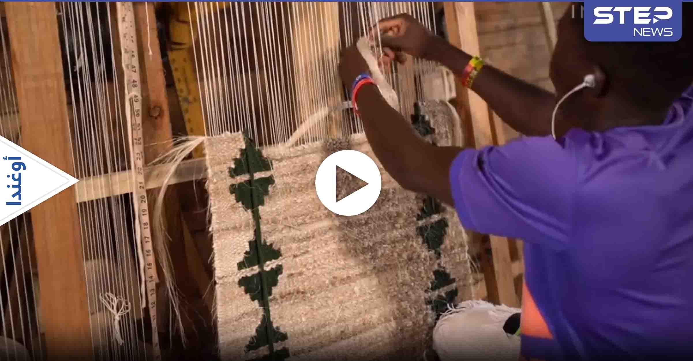 بالفيديو|| من غرائب الصناعات.. استخدام مخلفات الموز لإنتاج السجاد ووصلات الشعر والملابس