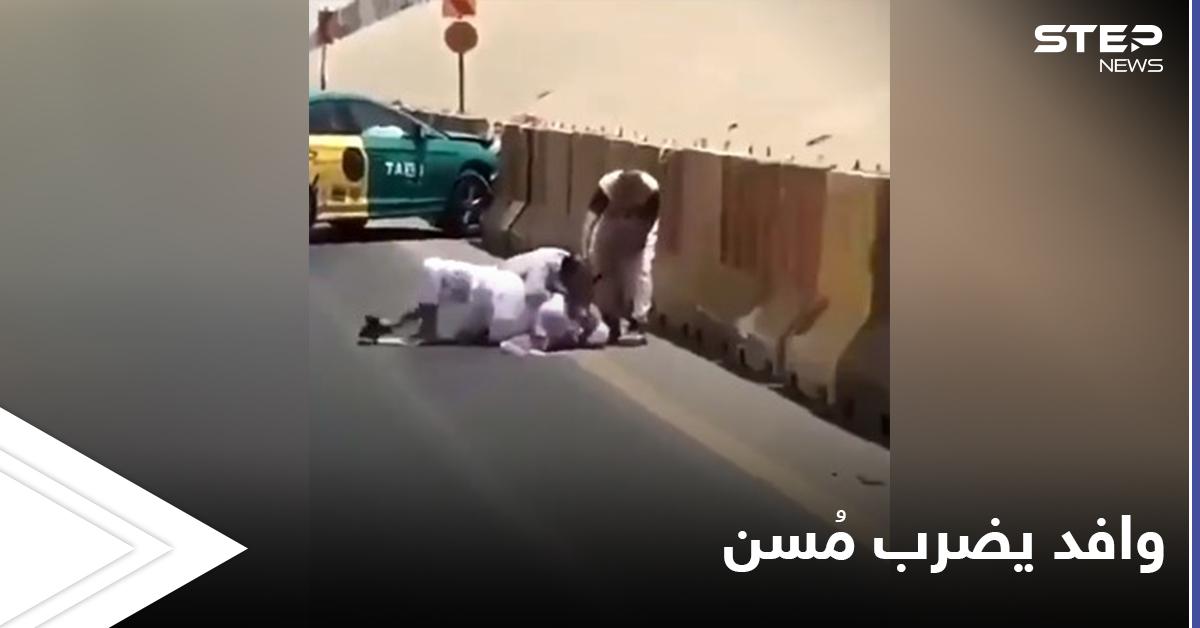 """""""وافد يضرب مسن"""" هاشتاغ متداول بالسعودية... باكستاني يحاول إنهاء حياة رجل في منتصف الطريق"""