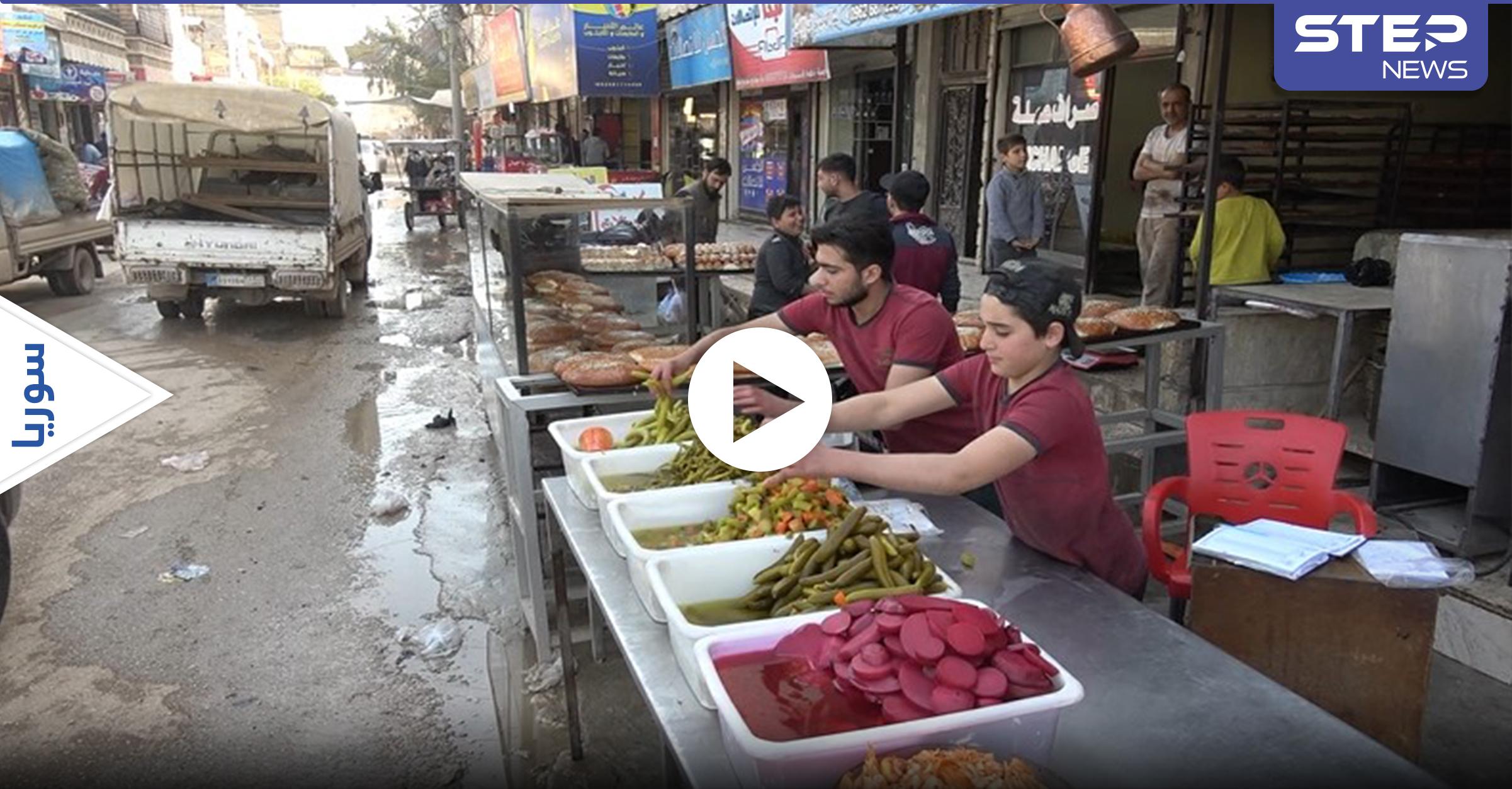 عدسة ستيب نيوز ترصد الأجواء الرمضانية في مدينة الدانا السورية شمال إدلب