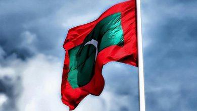 العَلم المالديف 3