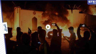 بالفيديو || غضب في كربلاء.. محاولة لاغتيال صحفي وإحراق لـ القنصلية الإيرانية
