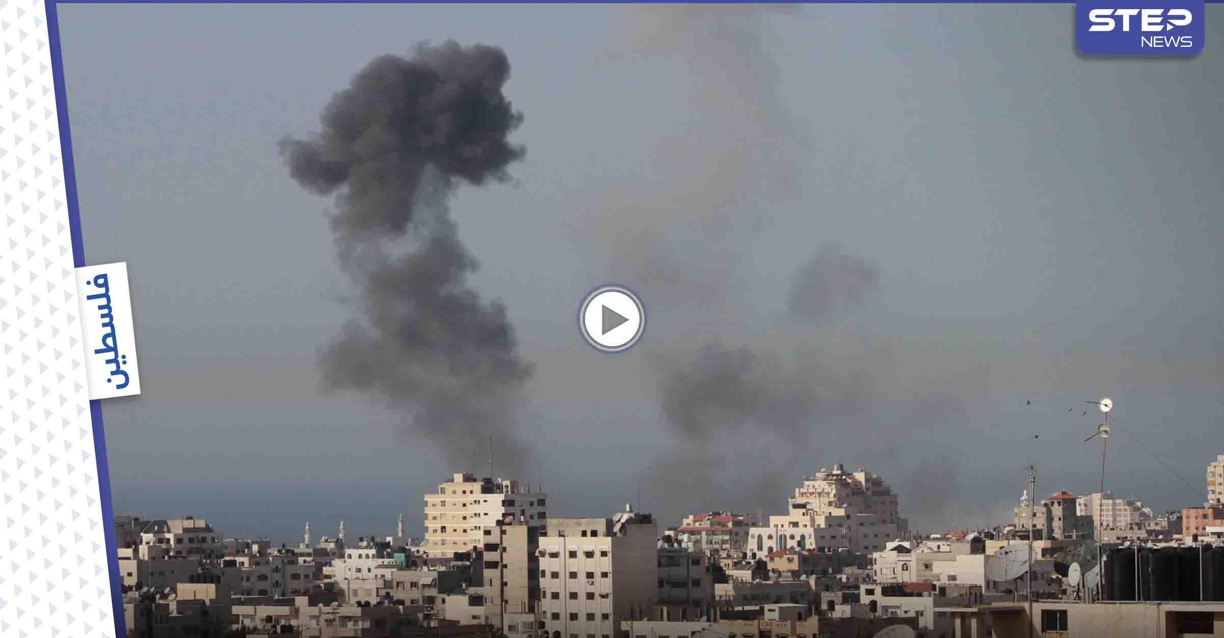 بالفيديو || قصف مكثّف على غزة.. استهداف مبانٍ مدنية وحكومية وارتفاع في حصيلة الضحايا