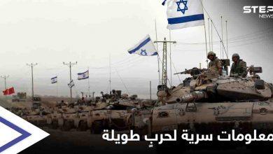 مصادر تكشف معلومات حساسة عن العملية العسكرية الإسرائيلية الشاملة.. وقوة ترسانة حماس