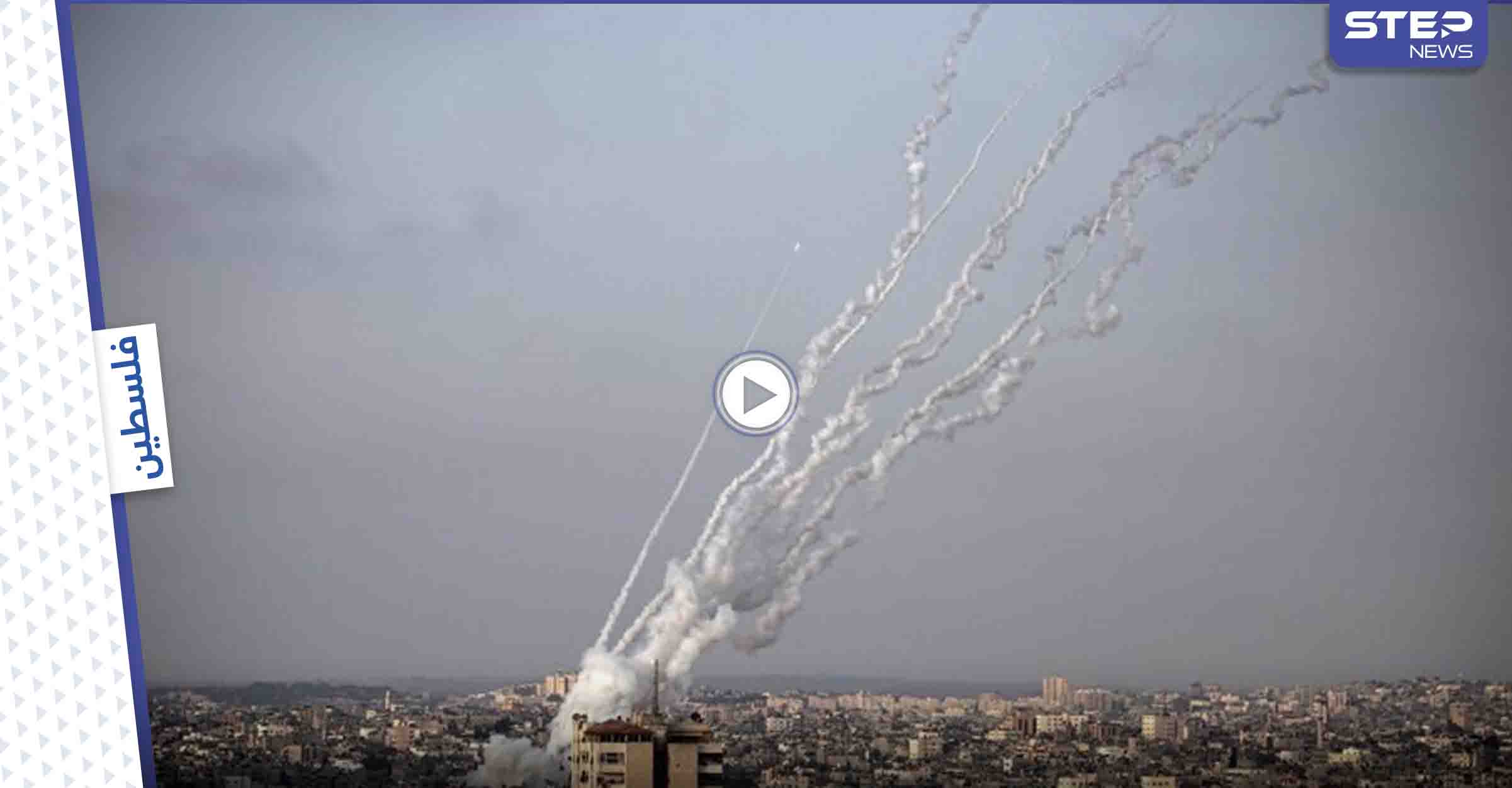 """من وإلى غزة.. رشقات صاروخية متجددة وغارات ونتنياهو يستعين بـ """"الشاباك"""" (فيديو)"""