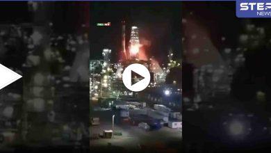 بالفيديو   ألسنة اللهب تلتهم منشأة نفطية تابعة لإسرائيل في حيفا.. وإعلام عبري يكشف السبب