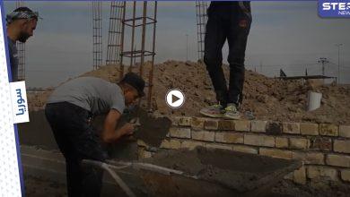 """""""منبر للتشييع"""".. الميليشيات الإيرانية تُكمل بناء حسينية في البادية السورية (فيديو)"""