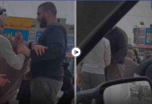 بالفيديو|| اندلاع شجار وتبادل للعنف بين مجموعة متسولين تونسيين وسوريين بمدينة سوسة