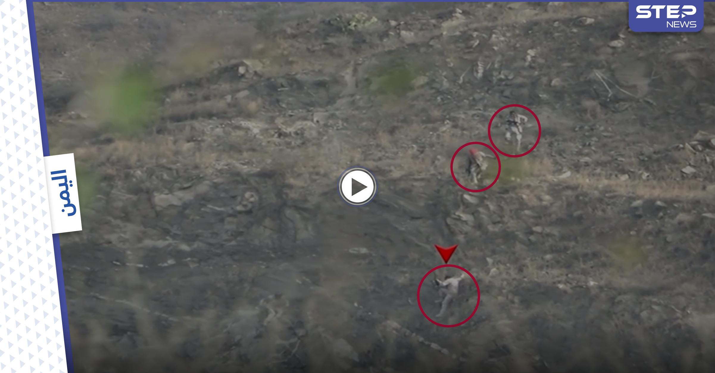 بالفيديو || ميليشيا الحوثي تُظهر جانب من المعارك في محور جيزان وتعلن عن نتائج عملياتها