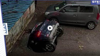 إحدى السيارات في الهند