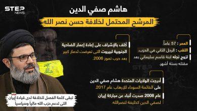 تعرف على هاشم صفي الدين المرشح المحتمل لخلافة حسن نصرالله