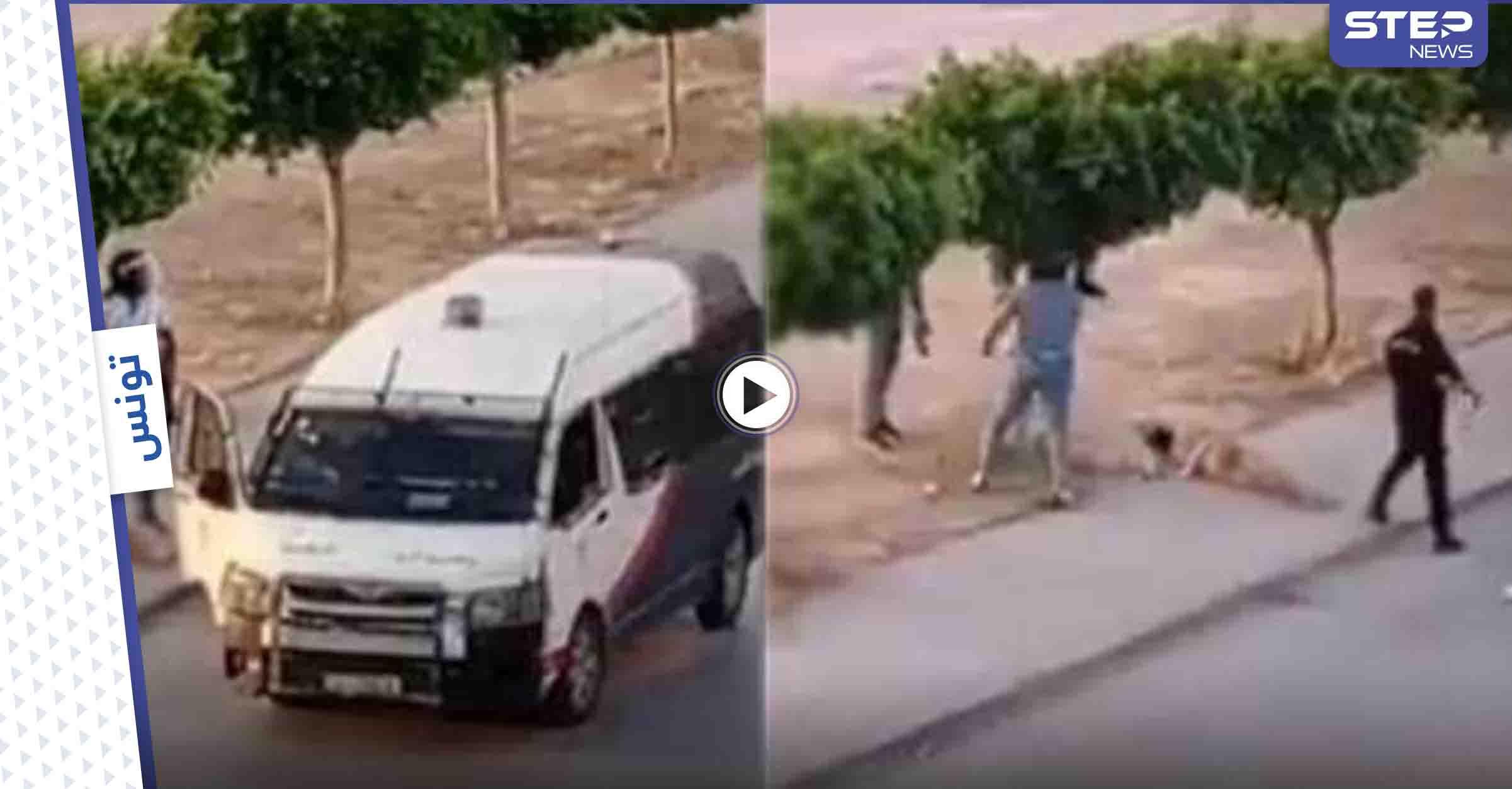 بالفيديو|| مشاهد تشبه مشاهد أبو غريب.. الشرطة التونسية تسحل شاباً وتعرّيه والبرلمان يتحرك