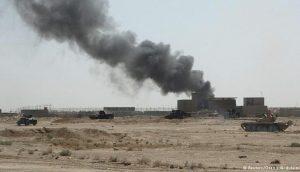 هجوم صاروخي يستهدف قاعدة عين الأسد في العراق