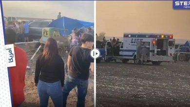 بالفيديو|| لحظة خروج سيارة سباق عن مسارها ومهاجمتها المتفرجين وإصابتها 29 شخصاً في أمريكا