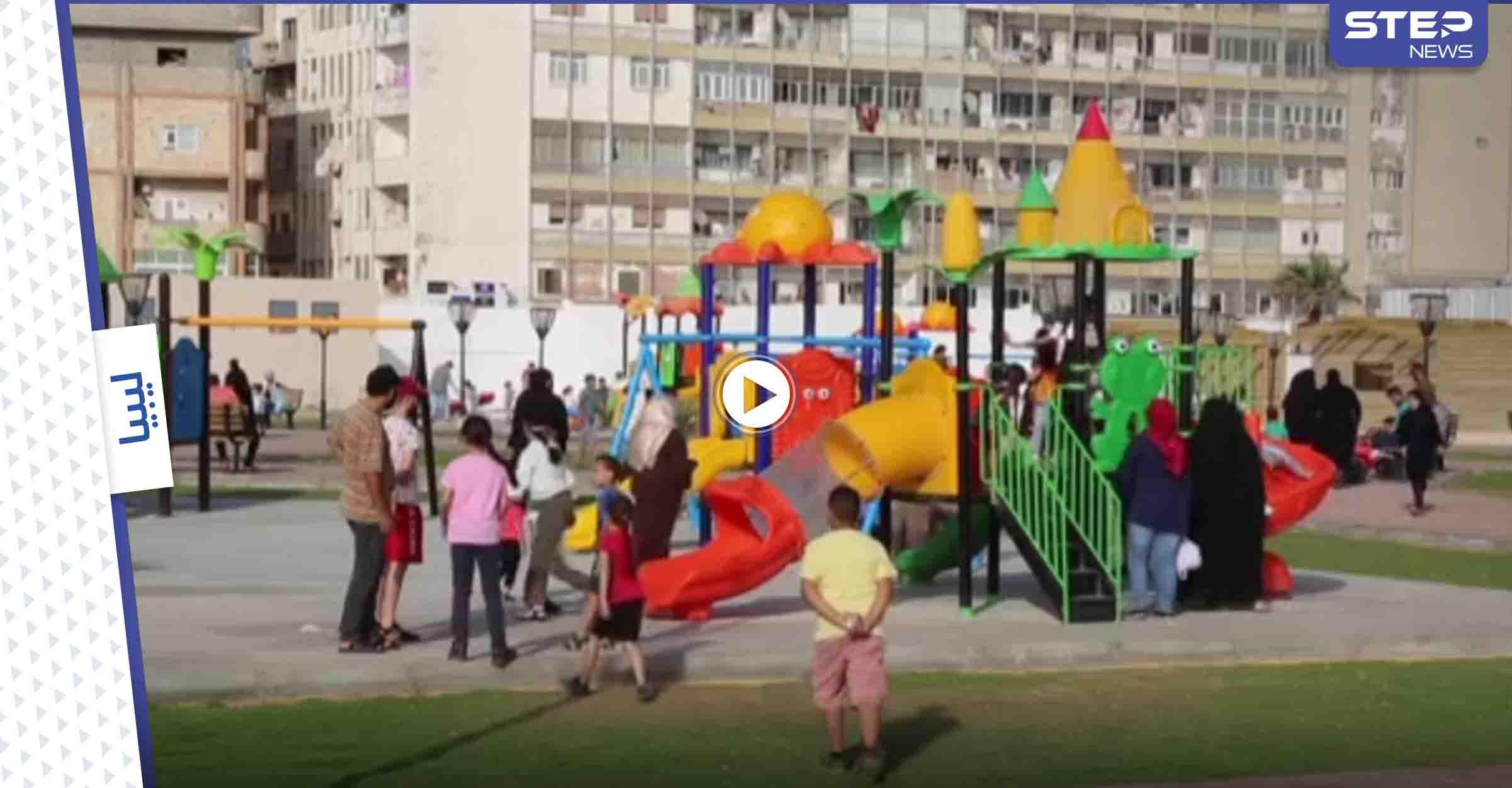 بالفيديو|| أشهر ثكنة عسكرية نسائية في ظل حكم القذافي تتحوّل إلى مجمع ترفيهي