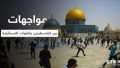 جرحى بمواجهات بين الفلسطينيين والقوات الإسرائيلية قرب المسجد الأقصى (فيديو)