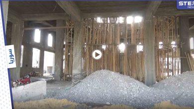 بالفيديو|| حركة النجباء تستأنف بناء مسجد السيدة رقية بتدمر بعد وصول إمدادات الحرس الثوري
