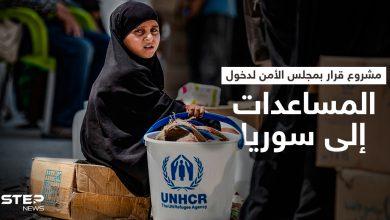 مشروع قرار بمجلس الأمن يقترح دخول المساعدات إلى سوريا عبر معبرين