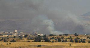 """إسرائيل تدمر موقعاً لـ """"حزب الله"""" اللبناني في القنيطرة"""