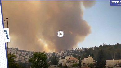 بالفيديو || حرائق هائلة تطرد الإسرائيليين من منازلهم غرب مدينة القدس والتحقيقات على قدمٍ وساق