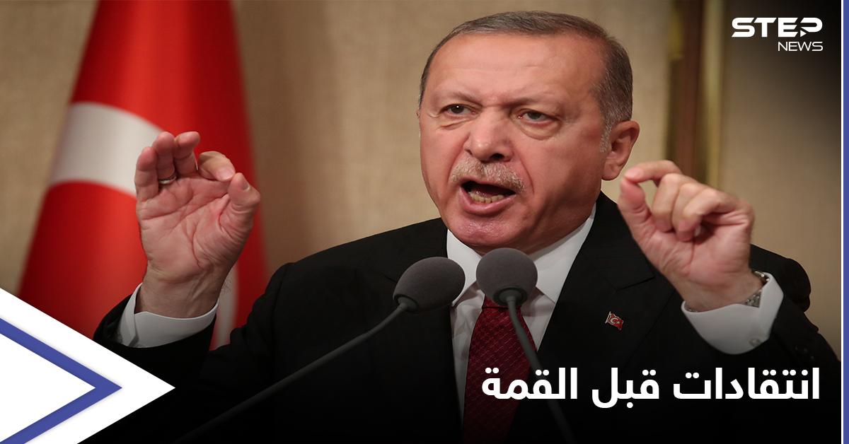 قبيل قمة الناتو... أردوغان يهاجم نظيريه الأمريكي والفرنسي