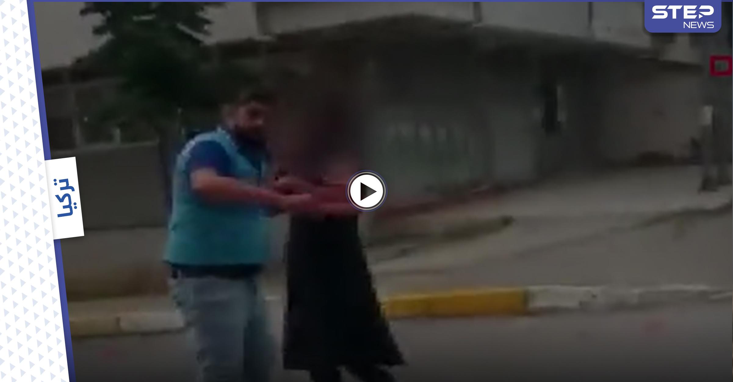 بالفيديو|| امرأة تدخل شاب إلى منزلها مرتدياً زياً نسائياً في إسطنبول ليتفاجئ الأخير بوجود زوجها