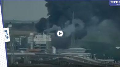 بالفيديو || انفجار ضخم بمصنع للكيماويات في مدينة ليفركوزن الألمانية