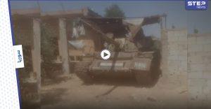 بالفيديو    مقاتلي درعا يسيطرون على حواجز النظام السوري بالريف الشرقي