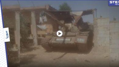 بالفيديو || مقاتلي درعا يسيطرون على حواجز النظام السوري بالريف الشرقي