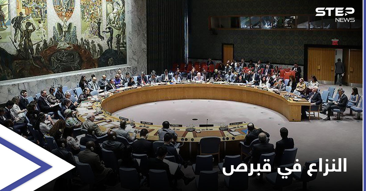 مجلس الأمن يوافق على إعلان لتسوية النزاع في قبرص