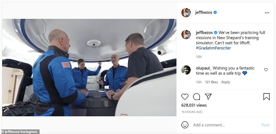 45651583 9804257 Bezos s Instagram account showed him and his four fellow crew me a 26 1626768868906