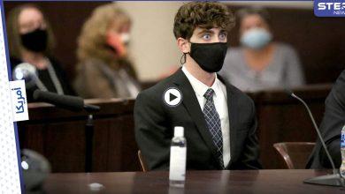 المجرم الوسيم كاميرون هيرين ما زال يشغل مواقع التواصل ورسالة متداولة منه لعائلة الضحية (فيديو)