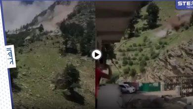 بالفيديو|| انهيار صخري مرعب بالهند تسبب بدمار واسع ومقتل 9 أشخاص وتدمير جسر