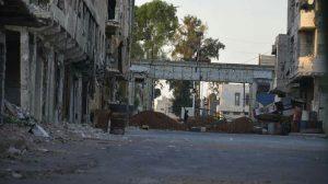 اجتماع خالي الوفاض بين اللجنة المركزية مع الشرطة الروسية في درعا البلد المحاصرة