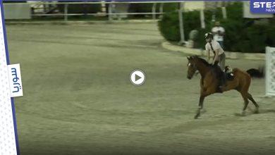 بالفيديو|| الحصان تعبان.. منال الأسد تبرر خروج أحمد حمشو من أولمبياد طوكيو بعد وقوعه بالملعب