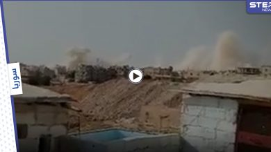 """أكثر من 25 صاروخ.. قوات النظام السوري تستهدف أحياء درعا البلد بصواريخ """"الفيل"""""""
