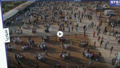 بالفيديو   أضخم وليمة في الشمال السوري بلغت تكلفتها 30 ألف دولار عقدت بهدف الصلح