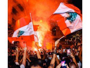 بالفيديو|| تظاهرات بقلب العاصمة تصعّد الهتاف ضدّ إيران وميليشيا حزب الله بذكرى انفجار مرفأ بيروت