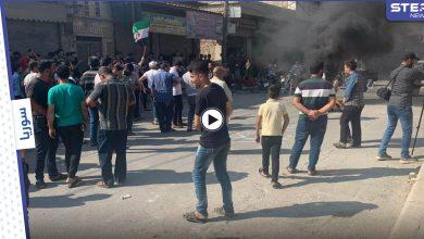 بالفيديو|| مظاهرات ضد شركة الكهرباء التركية شرق حلب، وبتوجيه تركي المساعدات الإنسانية إلى قرى التركمان فقط