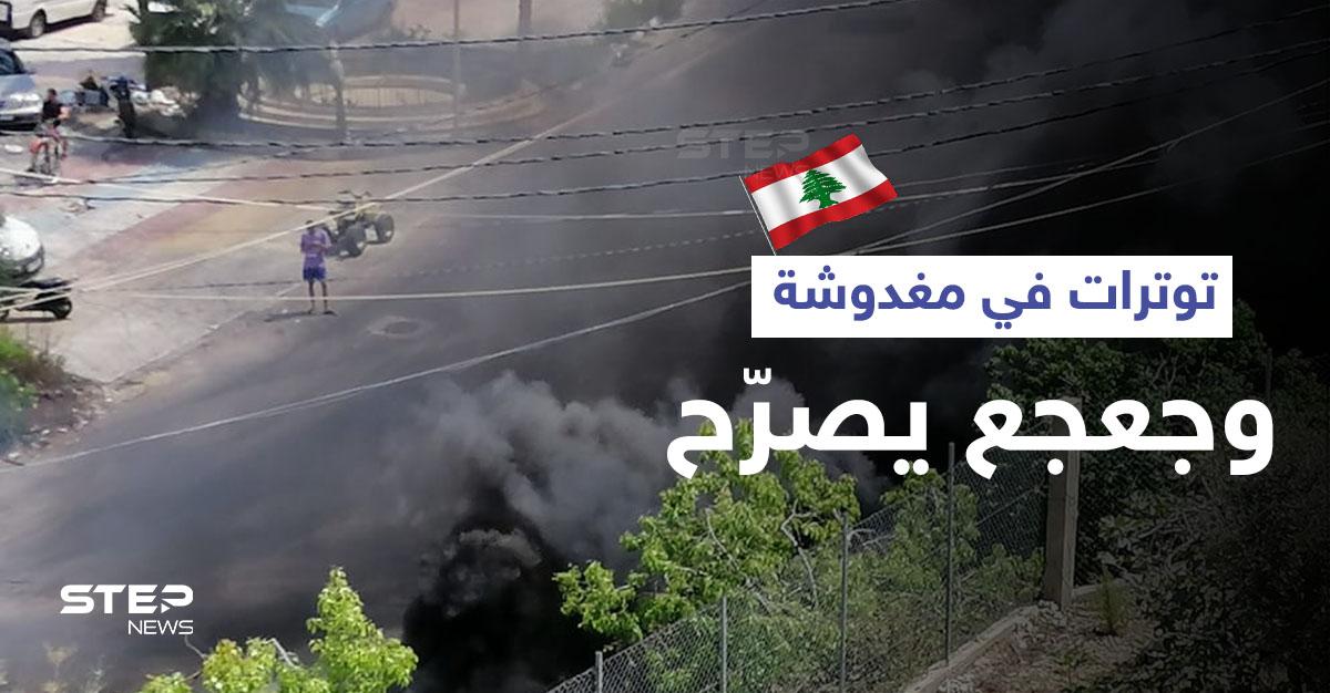ضرب للأهالي وتكسير للمزارات والسيارات في بلدة مغدوشة اللبنانية والجيش يتدخل (فيديو وصور)