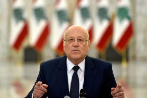 """ميقاتي: مهلة تشكيل الحكومة اللبنانية غير مفتوحة """"وفهمكم كفاية"""""""