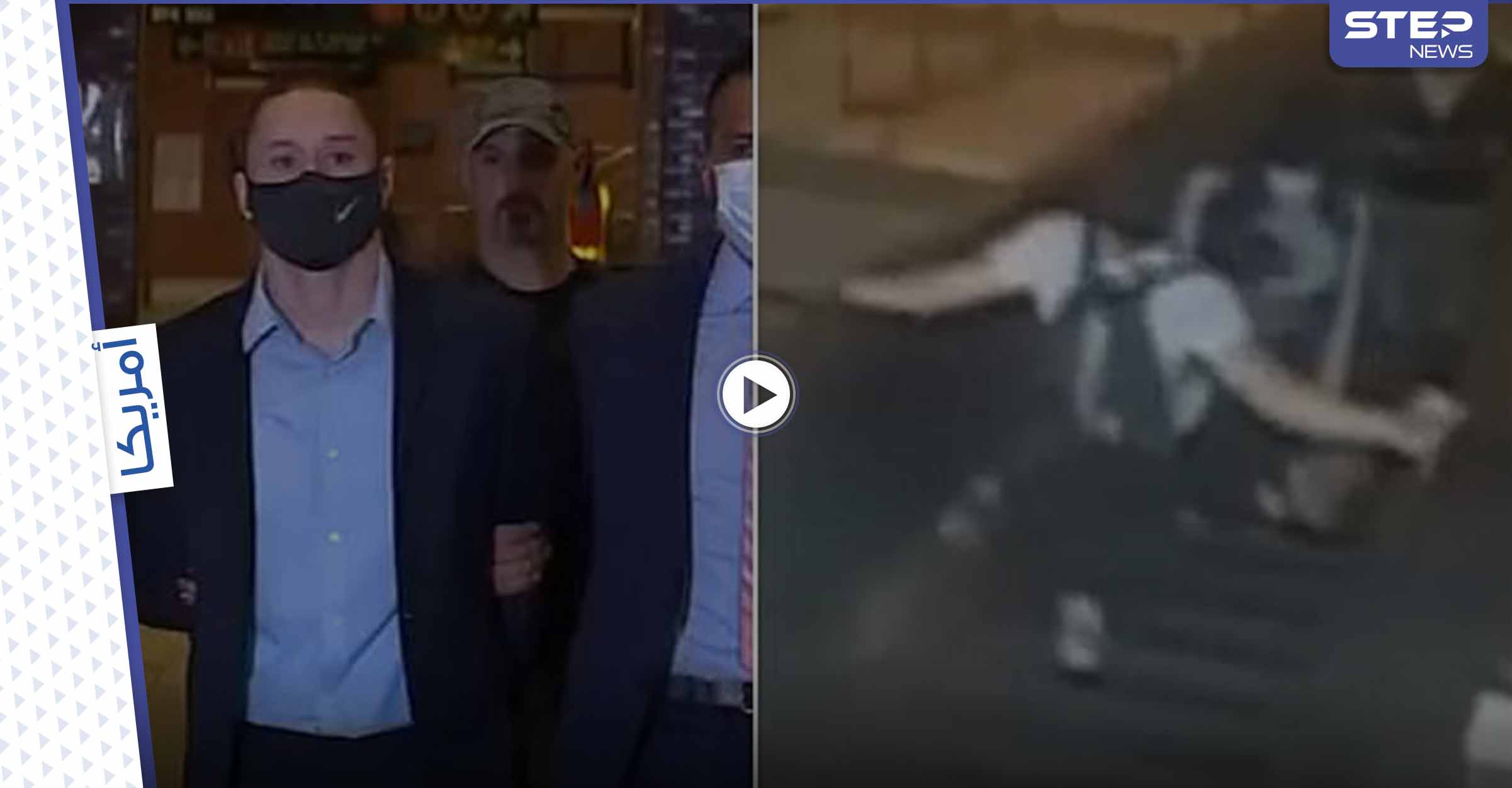 بالفيديو|| رجل يهاجم امرأة على مصعد كهربائي ويركلها بصدرها متسبباً بدحرجتها أرضاً.. والسبب كلمة عفواً