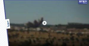 بالفيديو || ضحايا بغارات جوية روسية استهدفت مناطق مأهولة بريف إدلب الشمالي