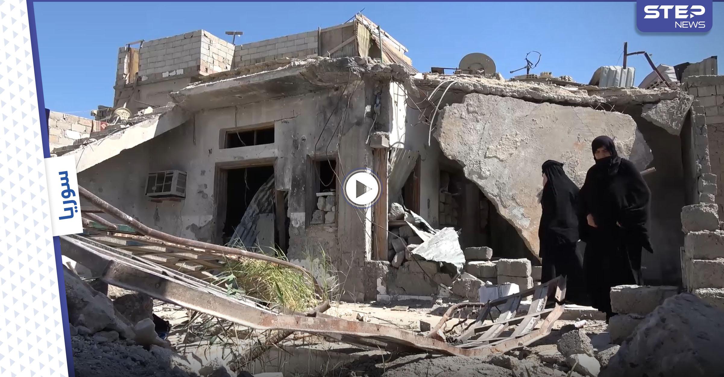 الحاجة خديجة فقدت عائلتها في مدينة الرقة ... تعرّف على قصتها