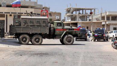 دخول القوات الروسية إلى درعا البلد تنفيذاً لبنود الاتفاق الجديد