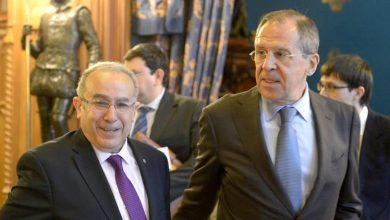لافروف يبحث مع نظيره الجزائري جملة قضايا بينها سوريا والصحراء الغربية