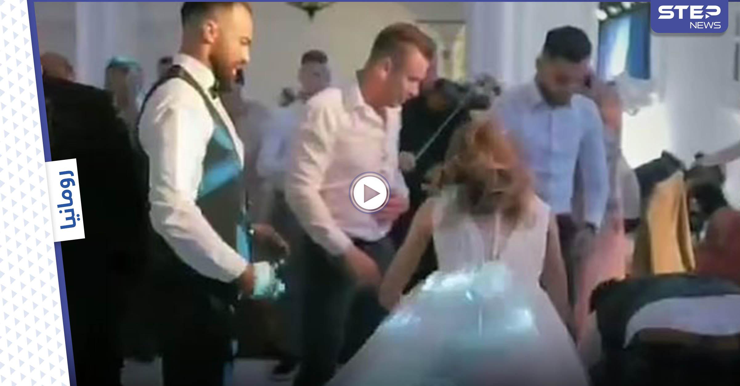 بالفيديو|| الكاميرا تلتقط لحظات مروّعة أثناء إصابة عريس بالشلل خلال زفافه وردة فعل العروس