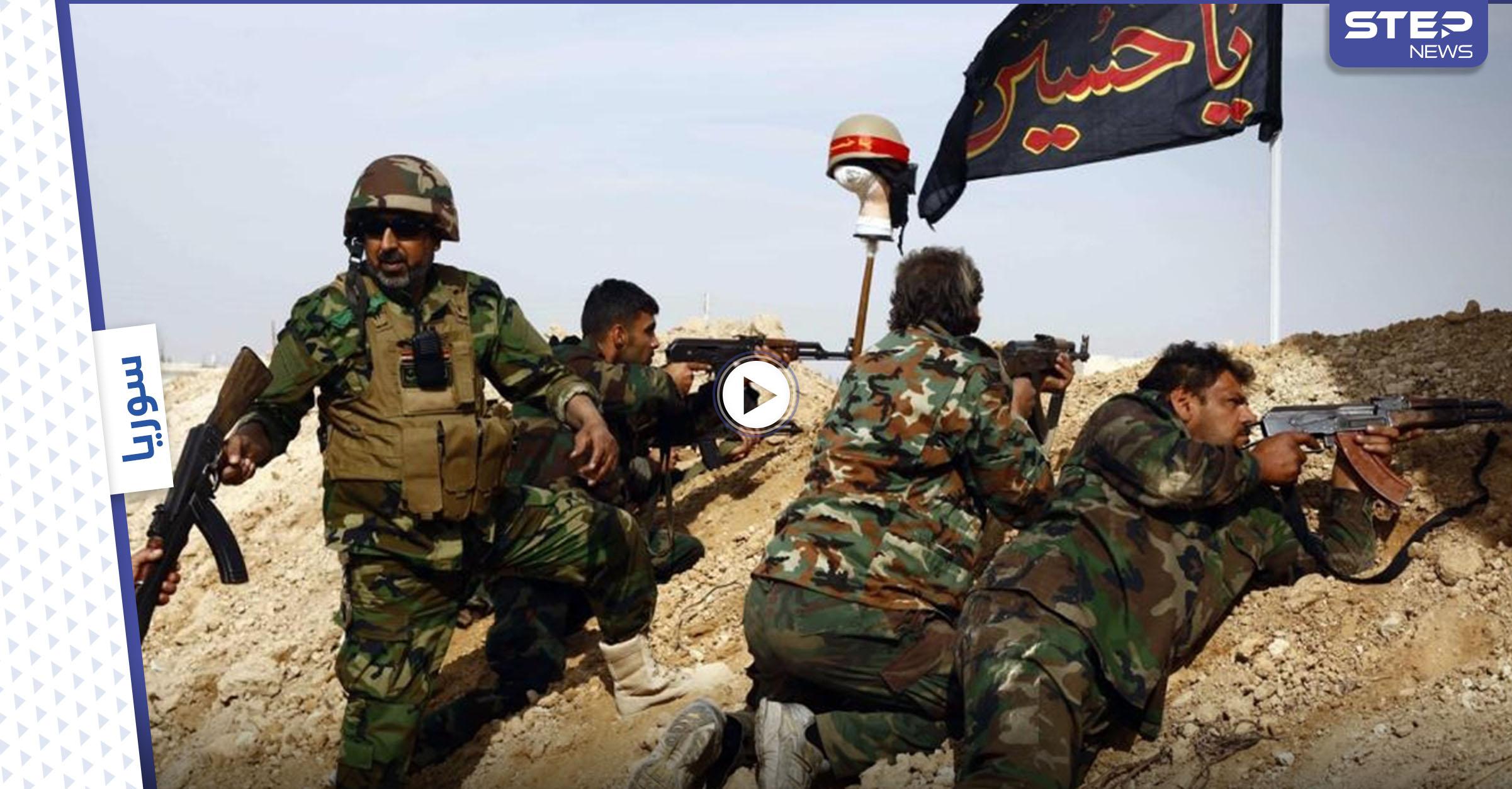 """بالفيديو    بحثاً عن داعش.. """"ستيب"""" ترصد تحركات إيرانية وقصف مكثّف على البادية السورية"""