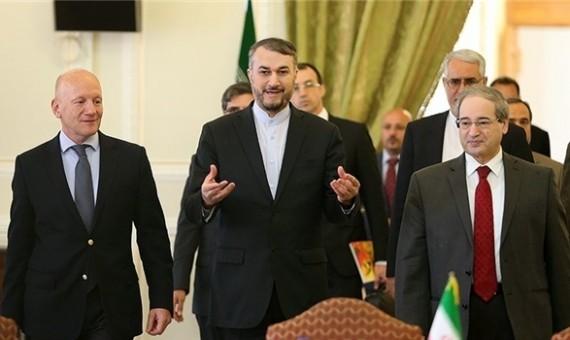 42149 أمير حسين عبد اللهيان يلعب دورا بارزا فى سوريا