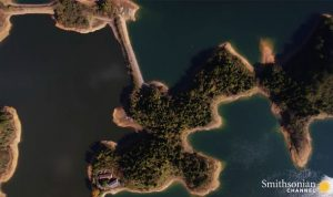 Qiandao Lake Each island is the top of a hill submerged underwater 3657234