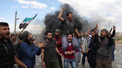 """بالفيديو    توتر شمال إدلب بعد إبلاغ """"الحزب التركستاني"""" للمدنيين إفراغ منازلهم"""